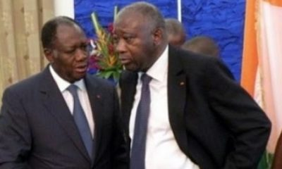 Alassane Ouattara et Gbagbo Laurent
